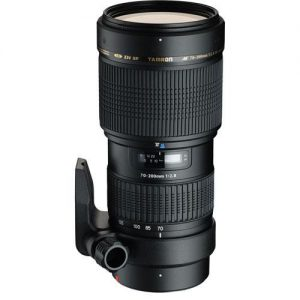 Lente Tamron 70-200mm f/2.8 Di LD IF Macro AF Canon