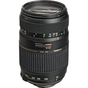 Lente Tamron 70-300mm f / 4-5.6 Di LD Macro para Nikon