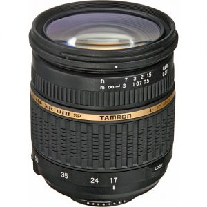 Lente Tamron 17-50mm f / 2.8 XR Di II LD SP AF para Nikon