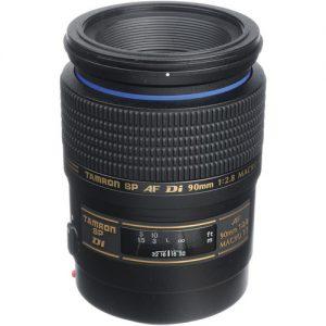 Lente Tamron SP 90mm f / 2.8 Di Macro para Canon
