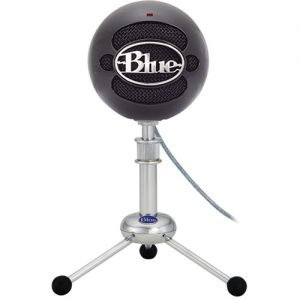 Microfono Blue Snowball Gloss Black
