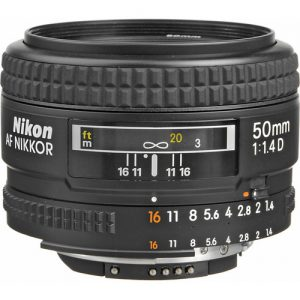 Nikon Af 50mm f/1.4 D Autofoco