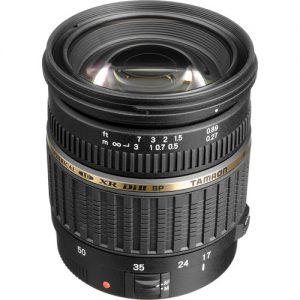 Lente Tamron 17-50mm f / 2.8 XR Di II LD SP AF Canon
