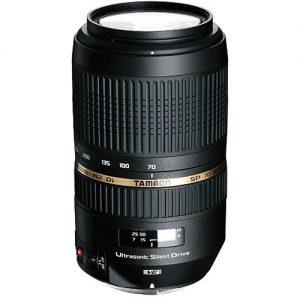 Lente Tamron 70-300 mm f / 4-5.6 Di SP VC USD Estabilizado - Canon