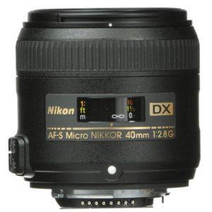 Nikon - Af-s Dx 40mm f/2.8 G micro