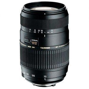 Lente Tamron AF 70-300mm f / 4-5.6 Di LD Macro para Canon