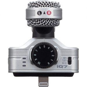 Micrófono Condenser Para iPhone Zoom IQ7