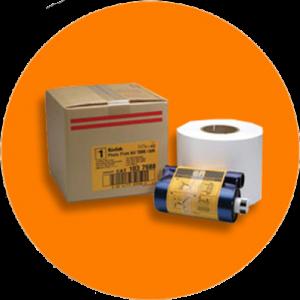 Kit Ribbon y Bobina para Impresora Kodak 305