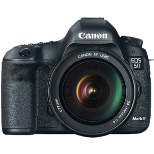 Canon EOS 5D Mark III DSLR 24-105mm