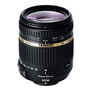 Lente Tamron 18-270mm f / 3.5-6.3 Di II VC PZD AF Estabilizado - Nikon