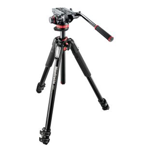 Tripode De Video Manfrotto MT055XPRO3 Con Cabezal MVH502AH